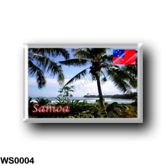 WS0004 Oceania - Samoa - Coastline