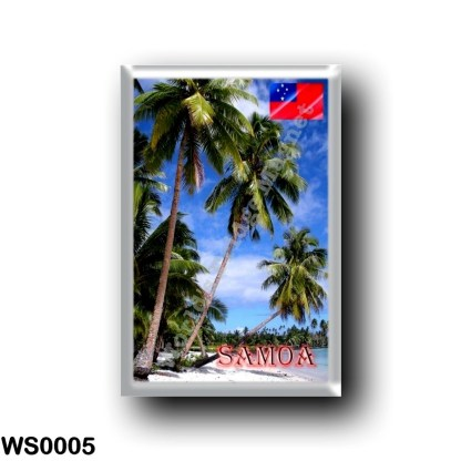 WS0005 Oceania - Samoa - Lefaga - Paradise Beach