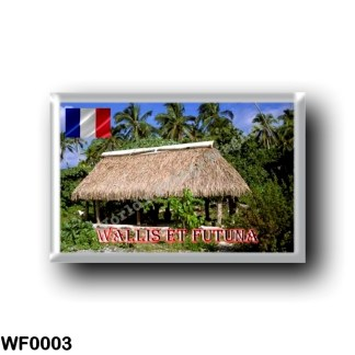 WF0003 Oceania - Wallis and Futuna - Fale on Faioa