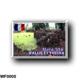 WF0005 Oceania - Wallis and Futuna - Mata - Utu - Ruins of the Talietumu Fort