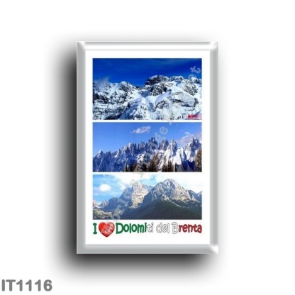 IT1116 Europe - Italy - Trentino Alto Adige - Brenta Dolomites - I Love