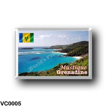 VC0005 America - Saint Vincent and the Grenadines - Grenadine - Mustique