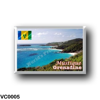 VC0005 America - Saint Vincent and the Grenadines - Grenadine - Mustique