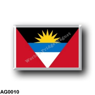 AG0010 America - Antigua and Barbuda - Flag
