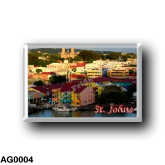 AG0004 America - Antigua and Barbuda - Saint Johns