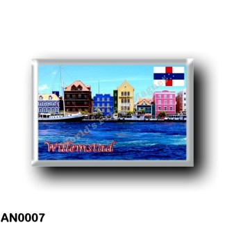 AN0007 America - Netherlands Antilles - Willemstad harbor