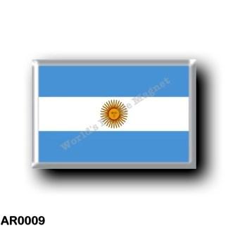 AR0009 America - Argentina - Flag