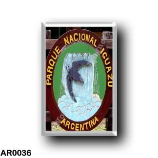 AR0036 America - Argentina - Logo del Parque Nacional Iguazú