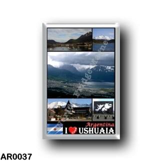 AR0037 America - Argentina - Ushuaia - I Love