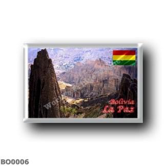 BO0006 America - Bolivia - La Paz - Luna Valley