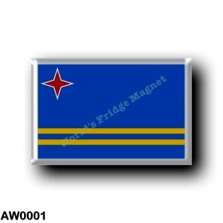 AW0001 America - Aruba - Flag