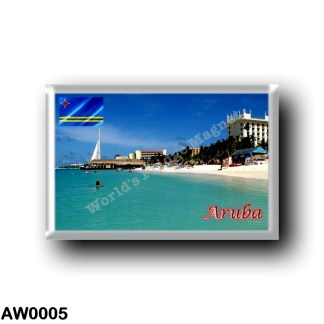 AW0005 America - Aruba - Palm Beach
