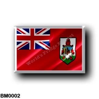 BM0002 America - Bermuda - Flag Waving
