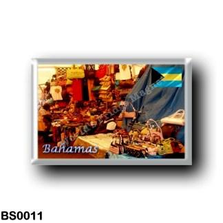 BS0011 America - The Bahamas - Straw Market