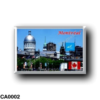 CA0002 America - Canada - Montréal - Panorama