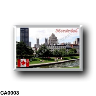 CA0003 America - Canada - Montréal - Panorama