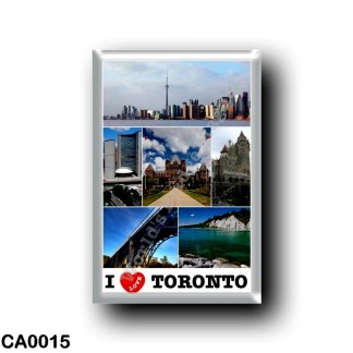 CA0015 America - Canada - Toronto - I Love