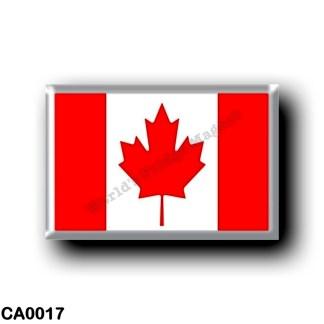 CA0017 America - Canada - Canadian flag