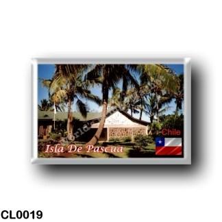 CL0019 America - Chile - Isla De Pascua - Hanga Roa