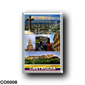 CO0008 America - Colombia - Cartagena Mosaic