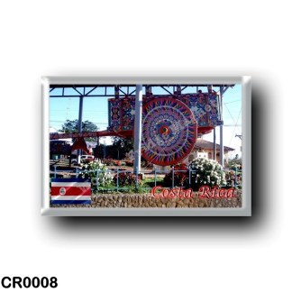 CR0008 America - Costa Rica - Carreta Típica Costarricense