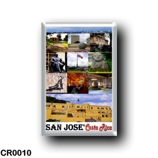 CR0010 America - Costa Rica - San José Mosaic