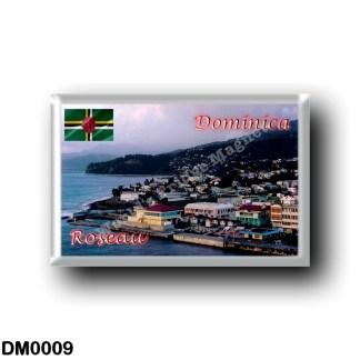 DM0009 America - Dominica - Roseau Panorama