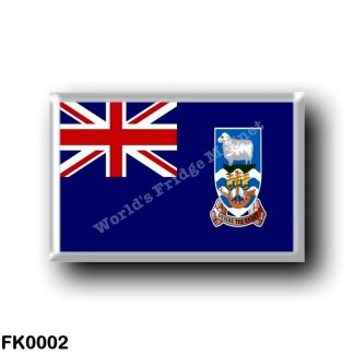 FK0002 America - Falkland Islands - Flag
