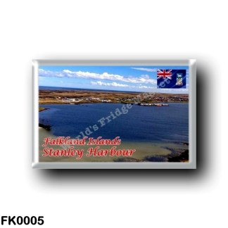 FK0005 America - Falkland Islands - Stanley Harbour