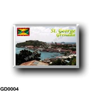 GD0004 America - Grenada - Saint George
