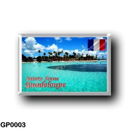GP0003 America - Guadeloupe - Sainte Anne Plage