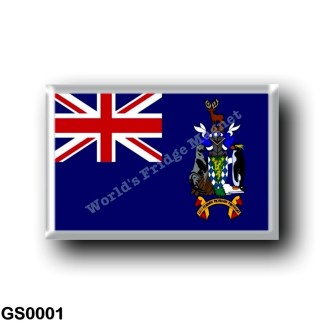 GS0001 America - South Georgia and the South Sandwich Islands - Flag