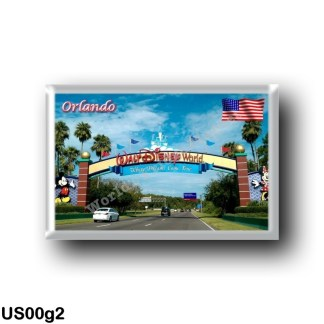 US00g2 America - United States - Florida - Orlando - Well Come