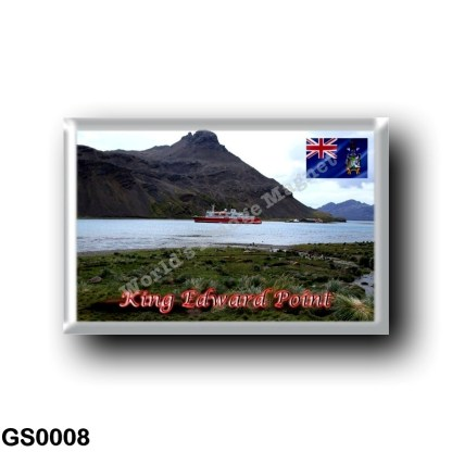 GS0008 America - South Georgia and the South Sandwich Islands - King Edward Point
