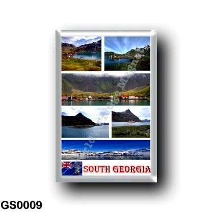 GS0009 America - South Georgia and the South Sandwich Islands - Mosaic