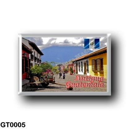 GT0005 America - Guatemala - Antigua - Calle del Arco