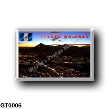 GT0006 America - Guatemala - Guatemala City - At Night
