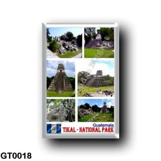 GT0018 America - Guatemala - Tikal - National Park - Mosaic