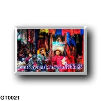 GT0021 America - Guatemala - Santo Tomás Chichicastenango Market