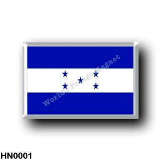 HN0001 America - Honduras - Honduregna flag