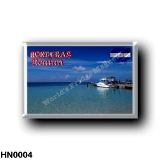 HN0004 America - Honduras - Roatan - West bay