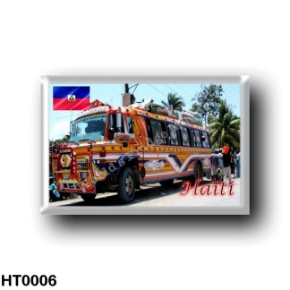 HT0006 America - Haiti - Tap Tap Public Transportation Haiti