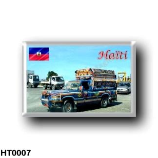 HT0007 America - Haiti - Puerto Principe Un Tap Tap ( taxi compartido )