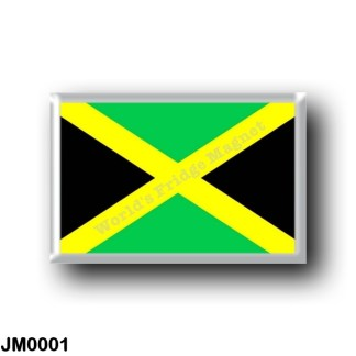 JM0001 America - Jamaica - Jamaican flag