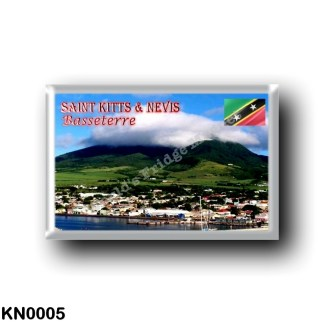 KN0005 America - Saint Kitts and Nevis - File Basseterre