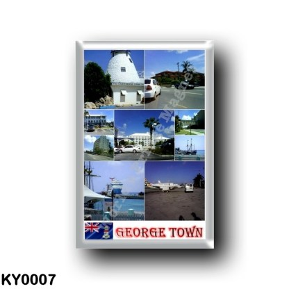 KY0007 America - Cayman Islands - George Town Mosaic