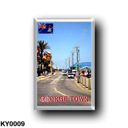 KY0009 America - Cayman Islands - George Town Main Street