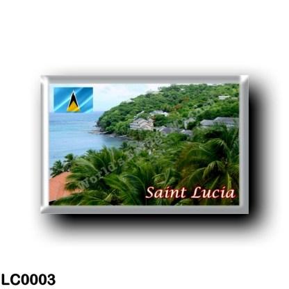 LC0003 America - Saint Lucia - Panorama