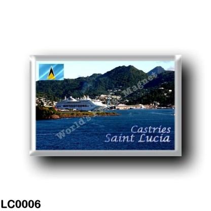 LC0006 America - Saint Lucia - Castries