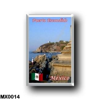 MX0014 America - Mexico - Oaxara - Puerto Escondido - El Faro